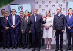 Renuncia René Juárez a la presidencia del PRI; asume Claudia Ruiz Massieu