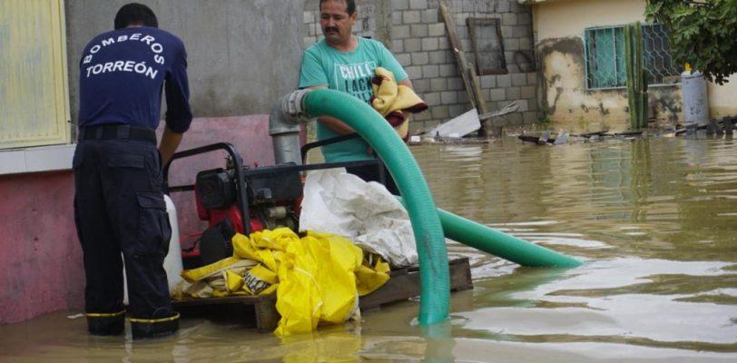 Suspenden clases en la Laguna por lluvias