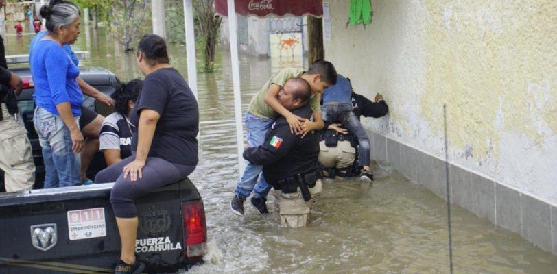 Emiten declaratoria de emergencia para Torreón y Acuña por lluvias