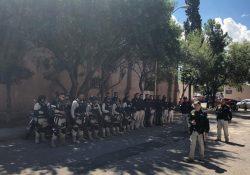 Desaloja Fuerza Coahuila a maestros que mantenían tomado el Congreso