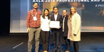 Saltillo, en la mira internacional; recibe premio de la ASLA