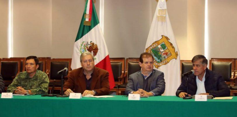 """Alista Coahuila acciones ante el huracán """"Willa"""""""