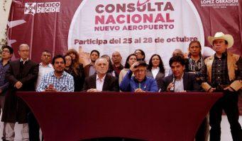 Consulta ciudadana del NAIM será vinculante e imparcial: Jesús Ramírez