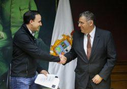 Toma protesta Jorge Ayax como Contralor Ciudadano de Saltillo