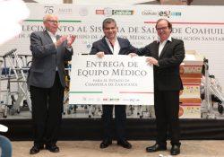 Entrega Narro Robles beneficios a Coahuila