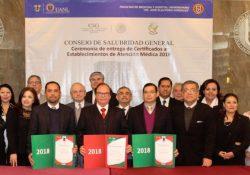 Recibe Secretaría de Salud de Coahuila reconocimiento nacional