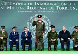 Inauguran Gobernador y Secretario de la Defensa el Hospital Militar de Torreón