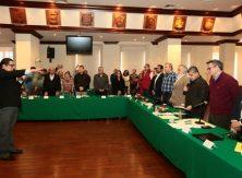 Ante colectivos, rinde protesta Comisionado de Búsqueda de Coahuila