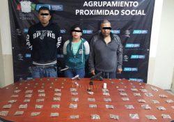 Detienen en Piedras Negras a 3 personas en posesión de narcóticos y armas