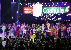 De la mano del Gobierno y DIF de Coahuila llega la magia de la Navidad a Torreón.