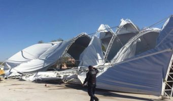 Fuertes vientos causan daños en Piedras Negras