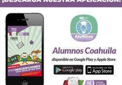 Padres de familia podrán preinscribir a sus hijos desde la aplicación 'Alumnos Coahuila'