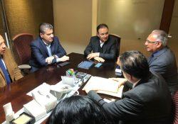 Se reúne MARS con el Secretario de Seguridad Federal, Alfonso Durazo