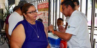 Se ha aplicado el 50% del total de vacunas contra influenza en Coahuila