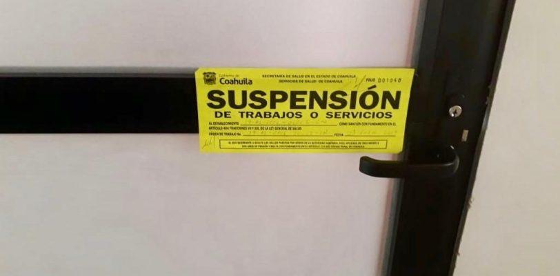 Suspende Salud Coahuila negocios de cirugía estética.