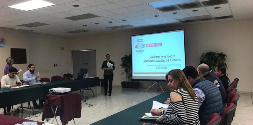 Coahuila capacita en materia de Administración de Riesgos a la Secretaría de Seguridad Pública