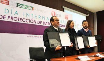 Importante resguardo de datos: ICAI, Gobierno de Coahuila y COTAI-NL en el Día Internacional de la Protección de Datos Personales