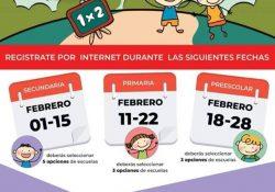Inscripción para Secundaria alcanza ya el 91% en Coahuila
