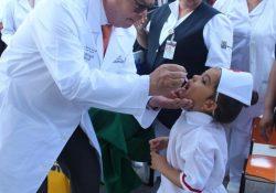 Aplicará Coahuila vacuna contra la Poliomielitis
