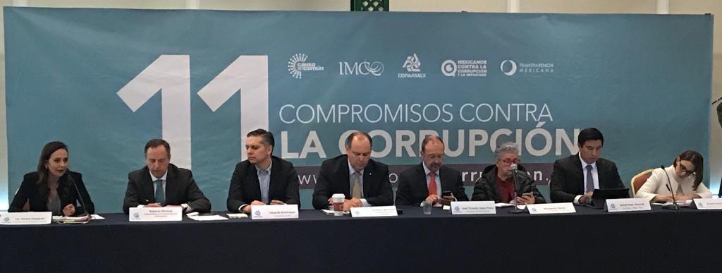 Coahuila presente en instalación de mesa técnica por '11 Compromisos Antecorrupción'
