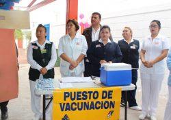 Instalará Salud Coahuila 371 puestos de vacunación