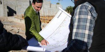 Supervisa Alcalde construcción del Multideportivo El Sarape