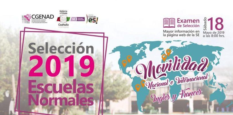 Marzo 26, último día para obtener ficha de ingreso a Normales de Coahuila