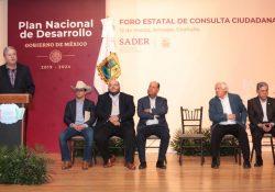 Se suma Coahuila a elaboración del Plan Nacional de Desarrollo 2019-2024