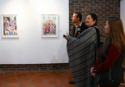 Conmemoran en Torreón el Día de la Mujer con exposición 'Mujer Mazahua'
