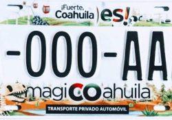 Amplián periodo para entrega de placas vehiculares en Coahuila