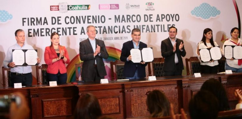 Lanza Coahuila apoyo emergente a 231 estancias infantiles