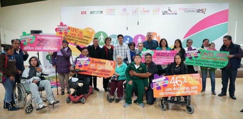 Hablemos de autismo: fomenta DIF Coahuila la concienciaciòn