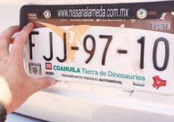 Municipios pueden aplicar multas por placas vencidas