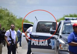 Jefe policiaco dispara al aire para amedrentar a periodistas