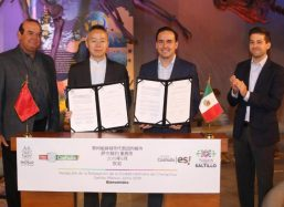 Ratifican Saltillo y Changzhou hermanamiento