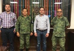 Establece Municipio de Saltillo coordinación con la Guardia Nacional