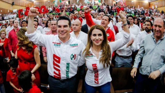 Priistas de Coahuila favorecen a Alito y Carolina
