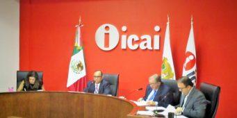 Obliga el ICAI a 35 dependencias a entregar información pública