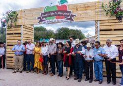 Con éxito concluye Festival de la Manzana en Arteaga