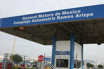 Advierten de paros técnicos en General Motors de Ramos Arizpe