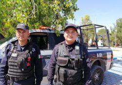 Policías de Saltillo salvan la vida de niño de cuatro años
