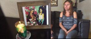 Claman justicia para Claudia, la niña de 14 años asesinada por su novio