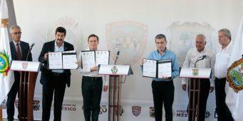 Coahuila, Durango  y Chihuahua coordinan esfuerzos por la paz: MARS