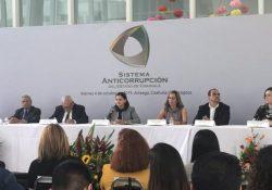 Presentan informe de actividades en el Sistema Anticorrupción