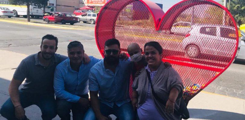 Instalan contenedores en la ciudad para depositar taparoscas en apoyo a Johana