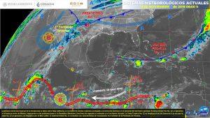 Recomiendan extremar precauciones ante la llegada del frente frío No. 12 a Coahuila