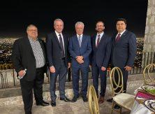 Alcalde recibe a delegación china de Techtronic Industries