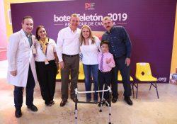 Arranca en Coahuila la campaña de boteo Teletón 2019