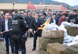 En Coahuila Se han destruido 63 toneladas de droga, por más de 2 mil 141 mdp: MARS