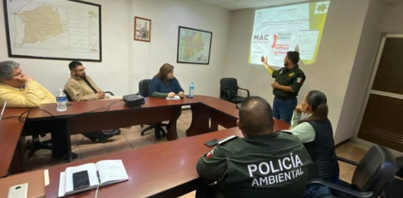 Comparte Saltillo modelo de la Policía Ambiental con Zacatecas